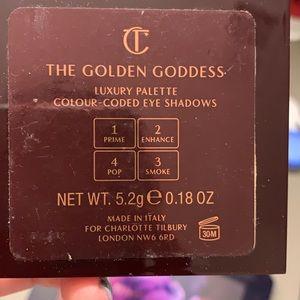 Charlotte Tilbury Makeup - Charlotte Tilbury eyeshadow pallet, golden Goddess